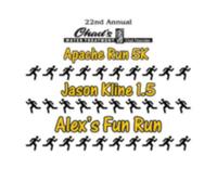 22nd Annual Chad's Water Treatment Apache Run 5K, Alex's One Mile Fun Run, & Jason Kline .75/1.5 Mile Color Runs - Sherwood, OH - race113368-logo.bGU-1O.png