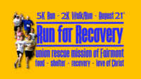 Run For Recovery 2021-To Benefit The Union Rescue Mission of Fairmont - Fairmont, WV - ab2e98c3-a8c8-4425-aa33-874727605a31.png