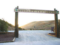 Ahmanson 12K Trails - West Hills, CA - 300px-Upper-las-virgenes-canyon-open-space-preserve-victory-trailhead.jpg
