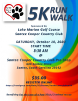 For the Love of A Paw 5k Fundraiser - Santee, SC - race117005-logo.bHg82x.png