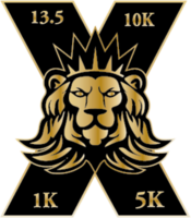 """X Challenge Lion Templar """"X"""" Medal (Special Edition) 13.1M/10k/5k/1k Remote-Race - Any City Any Town, Any State, CA - 13ee0128-ffe7-4d04-ae43-0a7c2bd6b24a.png"""