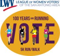 100 Years and Running LWVSAA 5K Run/Walk - San Antonio, TX - race118600-logo.bHuICS.png