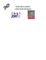 """5th  Annual """"Run For A Cause"""" 2 Mile Run or Walk for Diabetes - Harwinton, CT - race119616-logo.bHvDjy.png"""