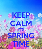 Spring Spectacular 5k, 10k, 10mile, Half Marathon - Huntington Beach, CA - keep-calm-it-s-spring-time-6.png