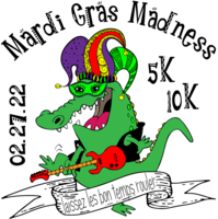 Mardi Gras Madness 5K/10K - Valencia, CA - Gator_Rock_Medal_Opt_PNG.png