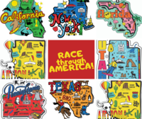 Race Through America 1M 5K 10K 13.1 26.2 - CHICAGO - Chicago, IL - america.png