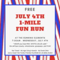Free July 4th 1-Mile Run/Walk at The Running Elements - Port Orange, FL - race48187-logo.bA1KLD.png
