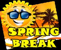 Spring Break 5k, 10k, 15k, Half Marathon - Santa Monica, CA - spring-break-march-4-fox-weather-blog-clipart.png