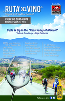 Ruta del Vino Bicycle Ride & Wine Festival - San Antonio De Las Minas, B.C. - RDV_postal_5.5x8.5in__Rev_.jpg