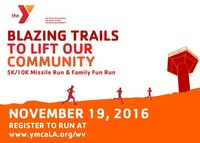 West Valley Family YMCA Missile Run and Family Fun Run - Tarzana, CA - savethedate10kv2.jpg