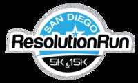 San Diego Resolution Run 5K/15K/HALF - San Diego, CA - ResolutionRun-LogoSilverBlue.png