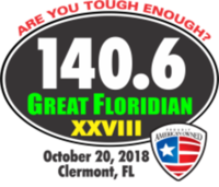 2018 Great Floridian Triathlon - Clermont, FL - Duathlon