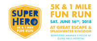 Glens Falls Hospital Superhero 5K & 1 Mile Fun Run - Over 50% of total race registrations donated to support Amandas House - Queensbury, NY - 578a1637-f473-40a8-b44b-ee0f53dc0ec6.png