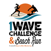 1 Wave Challenge & Beach Run - La Jolla, CA - 1-Wave_Challenge_logo_transparent.png