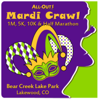 All-Out Mardi Crawl 1M, 5K, 10K and Half Marathon - Lakewood, CO - 0219MC_Square-_No_Date.png