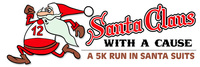 Santa Claus with a CAUSE 5K- Event shirt is a  Santa Suit! - Laguna Hills- Roadrunner Sports, CA - santa_logo_withsuitsgood.jpg