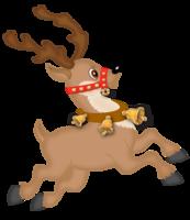 Reindeer Run 5k, 10k, 15k, Half Marathon - Van Nuys, CA - Christmas_Reindeer_Clipart_71730198121.png