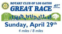 Rotary Club of Los Gatos Great Race - Los Gatos, CA - LGRotary-2018-Great-Race-Poster-01.jpg