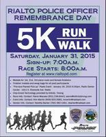 Rialto Police Officer Remembrance Day 5K - Rialto, CA - RPORD_5K_Run-Walk_013115.JPG