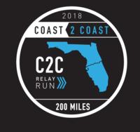 Florida Coast 2 Coast Relay - 200 miles - Titusville, FL - C2C_Logo_Black.png