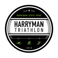Harryman Triathlon - Half and Olympic Distance, Team Relay - Stony Point, NY - GA_Harryman_Black-Green-White-Year.png