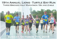 19th ANNUAL LIONS TURTLE BAY RACE HALF MARATHON - Redding, CA - race58722-logo.bANzfX.png