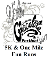 Oakdale Chocolate Festival 5K and 1-Mile Fun Run - Oakdale, CA - 09f28f40-b8f7-48f9-b0af-f1454aed6473.png