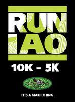 Iao Valley 10K & 5K - Wailuku, HI - Run_Iao_Valley_10k_5k_Logo.jpg