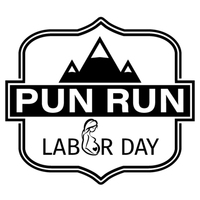Labor Day Pun Run 10K/5K - Lehi, UT - PunRun-Logo-NEW-Black.jpg