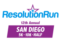 San Diego Resolution Run 5K/10K/HALF - San Diego, CA - 2019-RR-Logo-Horz-SD.png