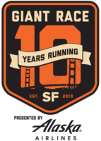 San Francisco Giant Race Presented By Alaska Airlines  - San Francisco, CA - GiantRace-10thAnniv-Logo-Black.png