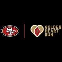 49ers Golden Heart Run - Half Marathon & 4.9K - Santa Clara, CA - 49ers_GHR_400x400_black.jpg