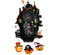 halloween pumpkin run cucu clock horror house 13110k5k