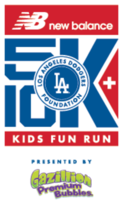 New Balance Los Angeles Dodgers Foundation 5K & 10K  - Los Angeles, CA - LADF_RUN_2016_Event_Logo_with_Gazillion.png