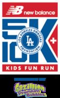 New Balance Los Angeles Dodgers Foundation 5K & 10K  - Los Angeles, CA - LADF_RUN_2016_Event_Logo_with_Gazillion.png