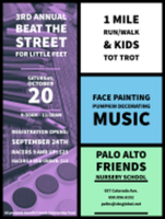Beat the Street for Little Feet! Friends Nursery School Fall Fun Run - Palo Alto, CA - race66125-logo.bBNXda.png