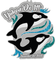Yukon Do It Half and Full Marathon - Port Orchard, WA - orca_medal.PNG