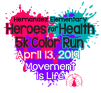 Heroes for Health 5k Color Run/Walk - San Marcos, TX - race67679-logo.bBVu2S.png