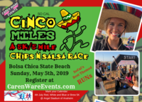 Cinco De Miles 5K & 5 Miles - Huntington Beach, CA - Front_Postcard_Cinco_De_Miles_2019.png