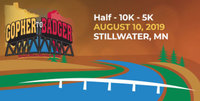 Gopher to Badger Half Marathon - Stillwater, MN - gopher-to-badger-button.jpg