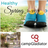 Camp Gladiator Spring into Health & Wellness 5K/10K Run/Walk - Boerne, TX - race68585-logo.bCgr0Q.png