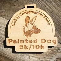 Painted Dog 5k/10k - Oceanside, CA - medal.jpg