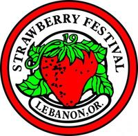 Lebanon Strawberry Festival 5k & 1 Mile Fun Run/Walk - Lebanon, OR - strawberry_background_logo.jpg