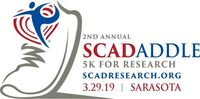 2nd Annual SW Florida 5K Sunset SCADaddle for Research  - Sarasota, FL - SCAD_Logo_Color_SRQ.jpg