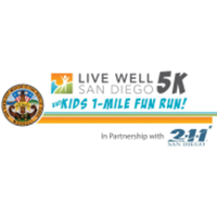 Live Well San Diego 5K & Kids 1-Mile Fun Run - San Diego, CA - race72279-logo.bCzofP.png