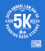 36th Annual Law Day 5K Race/Walk - Ventura, CA - Race_logo.png