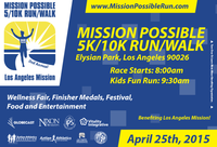 Mission Possible 5K/10K Run/Walk - Los Angeles, CA - mission_possible2015_postcard_front_web.png