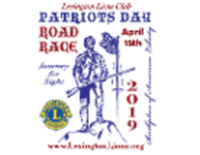 105th Annual Patriots Day 5 Mile Road Race - Lexington, MA - logo-20190310201858094.png
