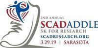 2nd Annual SW Florida 5K Sunset SCADaddle for Research - Sarasota, FL - SCAD_Logo_Color_SRQ.jpg
