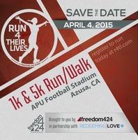 Run 4 Their Lives 1K & 5K Run/Walk - Azusa, CA - Azusa_8x8_LR.jpg